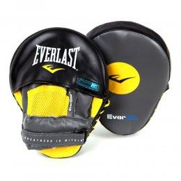 Лапы боксёрские вогнутые Everlast Vinyl Evergel Mantis, PU