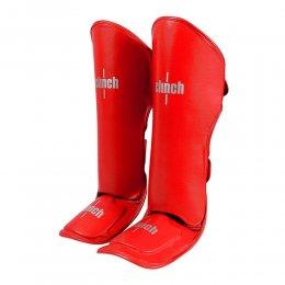 Защита голени и стопы Clinch Shin Instep Guard Kick, PU (красный)