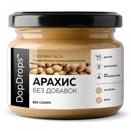 Ореховая паста DopDrops Арахис (без добавок) 250 гр