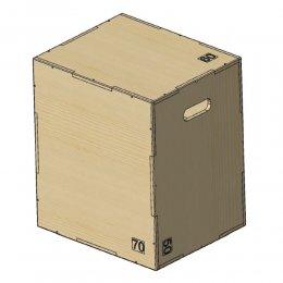 Универсальный бокс Plyo Box Profi-Fit 3 в 1