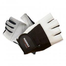 Перчатки Mad Max Fitness (белый/чёрный)