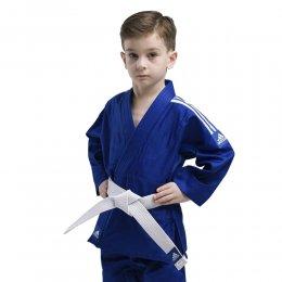 Кимоно для дзюдо с поясом Adidas Evolution (синий)