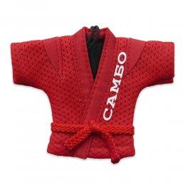 Сувенирная куртка САМБО ВФС (красный)