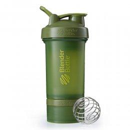 Шейкер Blender Bottle ProStak Full Color 624 мл (оливковый)