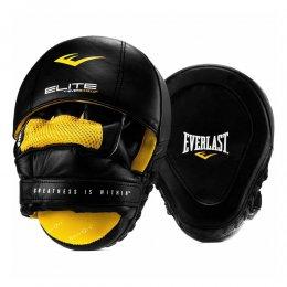 Лапы боксёрские вогнутые Everlast Pro Elite Leather Mantis