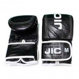 Перчатки снарядные JIC кожа (чёрный)