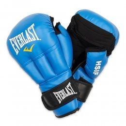 Перчатки для рукопашного боя Everlast HSIF, PU (синий)