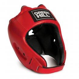 Шлем боксерский Green Hill Alfa, PU (красный)