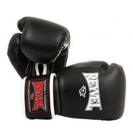 Перчатки боксёрские Reyvel, PU (чёрный)