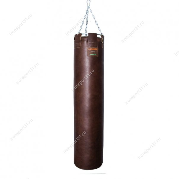 Боксёрский мешок TotalBox кожа (коричневый)