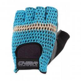 Перчатки для фитнеса Chiba Athletic (бирюзовый)