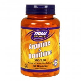 Arginine & Ornithine 500/250 mg 100 капс