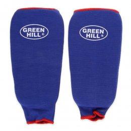 Защита голени Green Hill эластик (синий)