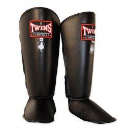 Защита голени и стопы Twins (чёрный)