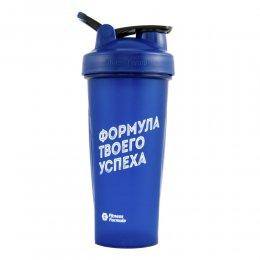 Шейкер Fitness Formula Full Color 828 мл (синий)