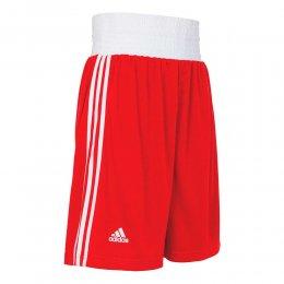Шорты боксёрские Adidas Boxing Short Punch Line (красный)