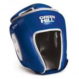 Шлем для кикбоксинга детский Green Hill Kids, PU (синий)