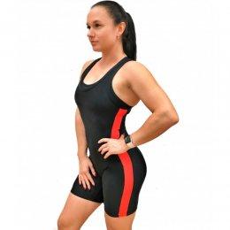 Трико для пауэрлифтинга женское Ironsport (чёрный)