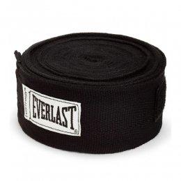 Боксерские бинты Everlast х/б (чёрный)