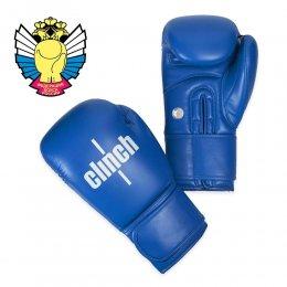 Перчатки боксёрские Clinch Olimp PU (синий)