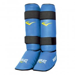 Защита голени и стопы Everlast HSIF PU (синий)