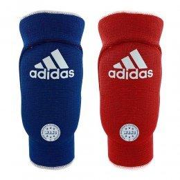 Защита локтя для кикбоксинга Adidas WAKO Reversible (красный/синий)