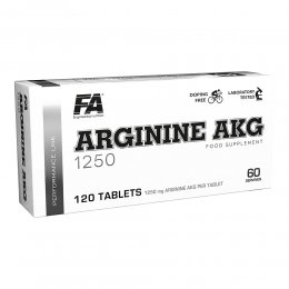 Arginine AKG 1250 mg 120 таб