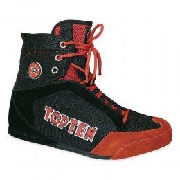 Боксёрки Top-ten (чёрный/красный)