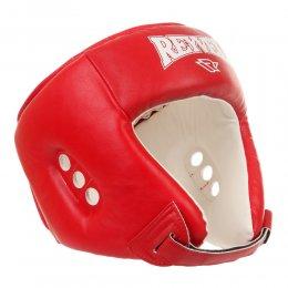 Шлем боксерский Reyvel, PU (красный)