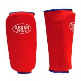 Защита голени Green Hill эластик (красный)