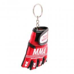 Брелок перчатки MMA Green Hill (красный)