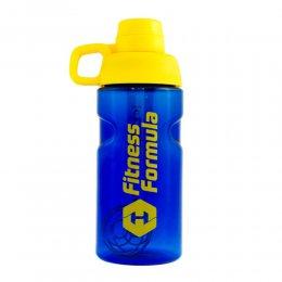 Шейкер - бутылка Fitness Formula 600 мл (синий/жёлтый)