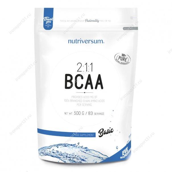 BCAA 2:1:1 500 гр