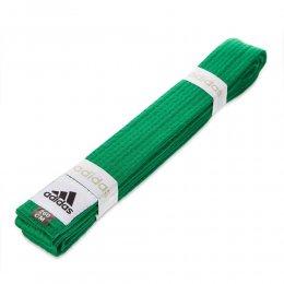 Пояс для кимоно Adidas Club (зелёный)