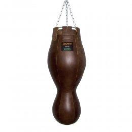 Боксёрский мешок фигурный TotalBox кожа (коричневый)