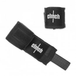 Боксерские бинты Clinch эластик (чёрный)