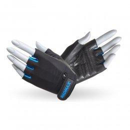 Перчатки женские Mad Max Rainbow (чёрный/синий)