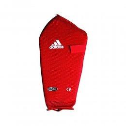 Защита голени Adidas эластик (красный)