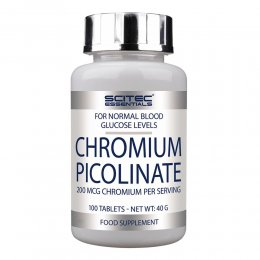 Chromium Picolinate 200 mcg 100 таб