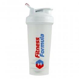 Шейкер Fitness Formula Full Color 828 мл (белый)