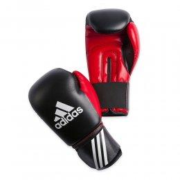 Перчатки боксёрские Adidas Response PU (чёрный/красный)