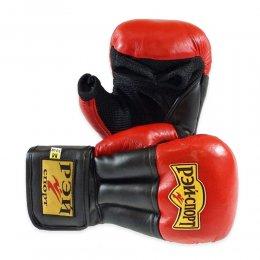 Перчатки для рукопашного боя Рэй-спорт Fight-2, PU (красный)