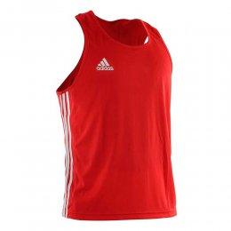 Майка боксёрская Adidas Boxing Top Punch Line (красный)