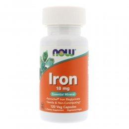 Iron 18 mg 120 капс