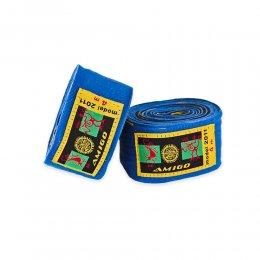 Боксерские бинты Amigo 3L Neoprene (синий)