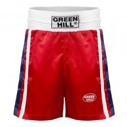 Шорты боксёрские Green Hill Olimpic (красный)