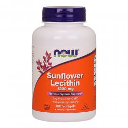 Sunflower Lecithin 1200 mg 100 капс