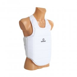 Защита корпуса для каратэ Best Sport ФКР (белый)